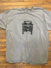 Toyota land Cruiser FJ60 60 series Landcruiser Tshirt Grey 2X-Large
