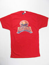vintage 80s Arizona Desert Sunset New Deadstock Glitter nos 50/50 soft t-shirt S