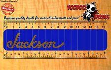 Guitar Headstock Vinyl Decal - Jackson