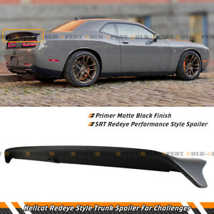 For 08-21 Dodge Challenger Hellcat Redeye Performance Style Black Trunk Spoiler