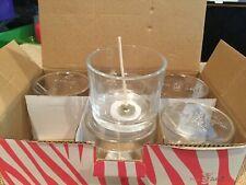 Pink Zebra Essentials Petite Glass 6 Pack - Brand New  in box