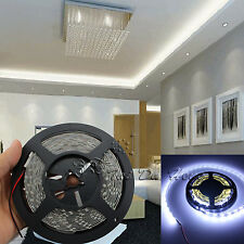 Super Cool White 5M SMD 3528 300LEDs Led Flexible Strip Light Lamp 12V L