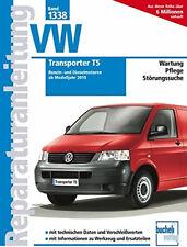 VW TRANSPORTER T5 AB 2010 REPARATURANLEITUNG 1338 WARTUNGSHANDBUCH
