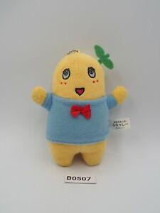 "Funassyi B0507 Taito Keychain Mascot 4"" Grey Parka Plush Toy Doll Japan"