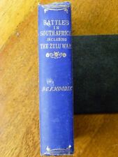 Battles in South Africa Including the Zulu War - Moodie (Hardback, 1879) RARE!