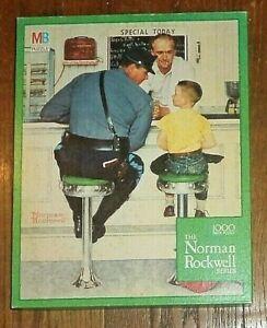 Milton Bradley 1000 piece jigsaw puzzle Norman Rockwell mint