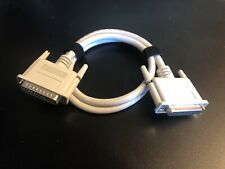 DB25 Extension Cable 3ft SCSI Serial M/F 25-Pin Beige A+ Macintosh PC Apple Mac