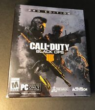Call of Duty Black Ops 4 Pro Edition [ STEELBOOK Pack + Season Pass ] (PC) NEW