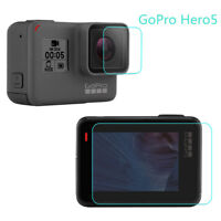 Protective For Gopro Hero 5 Black Camera Lens&Screen Protector Film Accessories