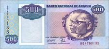 Angola 500 Kwanzas 1991 Pick 128 (1)