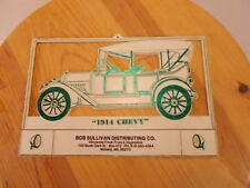 "Bob Sullivan Distributing Co. Moberly Missouri ""1914 Chevy"" Wall Plaque Ads"