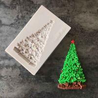 Xmas Tree Silicone Fondant Mould Cake Decor Sugar Chocolate Baking Mold.ÁÍ