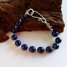 Lapis Lazuli Sterling Silver Fine Bracelets