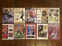 Michael Thomas - New Orleans Saints - 10 Football Card Lot - No Duplicates