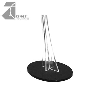 Zinge Industries Plastic Oval Flying Base and Stand A-SPB05