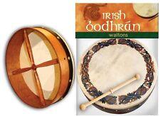 "Walton's 8"" Celtic Animals Pattern Irish Bodhrán Bodhrán Drum and Tipper Beater"