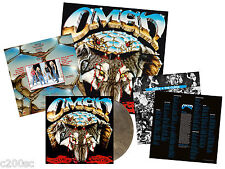 OMEN - THE CURSE, 2017 CLEAR WOLF GREY MARBLED vinyl LP + POSTER, 064/300! NEW!