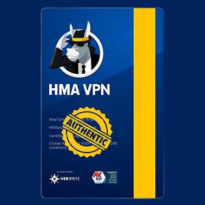 Hide My Ass VPN Unlimited Device 1 Year Global Key HMA Pro Premium Subscription