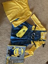 Despicable Me Dress costume Halloween minion VGUC Girls Large