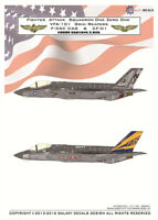 Galaxy Model G72005 1/72 Scale F-35C VFA-101 Grim Reapers CAG & CF-01 Decal