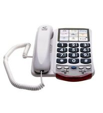Clarity 76593 Amplified Photo Corded Phone - Dial by Photo WHITE CLARITY-P300
