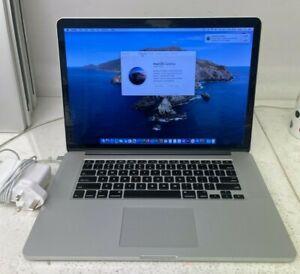 "Apple MacBook Pro A1398 Early 2013 15"" Core i7 2.4Ghz 8GB RAM 256GB SSD CC-216"