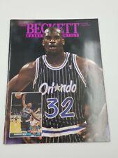 Beckett Basketball Card Magazine August 1993 #37 RC Shaq Johnson Hardaway