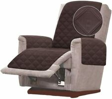 Double Diamond Quilted Chair Recliner Sofa Cover Furniture Protector Wide 23