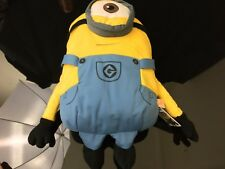 DESPICABLE ME MINION PLUSH BACKPACK  - JAPAN IMPORT - NEW