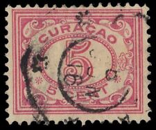 NETHERLANDS ANTILLES 52 (Mi54A) - Numeral of Value Definitive (pa24352)