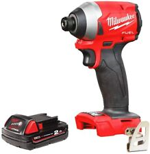 Milwaukee M18FID2 18v M18 Fuel Impact Driver With 1 x 2.0Ah Battery