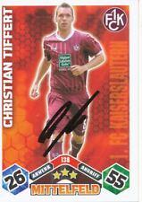 Christian Tiffert   FC Kaiserslautern Match Attax Card 2010/11 signiert 401218