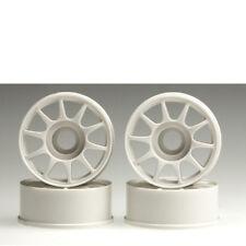 JANTE 1:24 10 RAYONS BLANC 8.5 mm4 pièces Mini-z Kyosho mz-15 703961