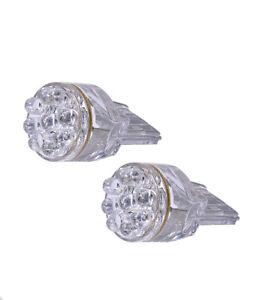 2 pcs 15 LED SMDs Color: Blue Replace Halogen Rear Turn Signal Light Bulbs D663