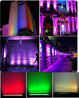 outdoor waterproof 24x10w 4in1 RGBW led wall washer event show dancing lights