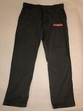 WearFirst Free-Band Pants Cargo, Stretch, Relaxed Fit Men's Size 38x30, Black