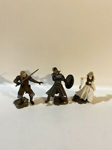 2003 Lord of The Rings Armies of Middle Earth Soldier & Scenes Rohan Eowyn Eomer