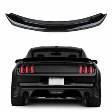 Black ABS GT350 Style Rear Trunk Spoiler Wing for 2015-2017 GT350 Ford Mustangs