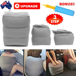 Plane Foot Rest Travel Pillow with Pump Portable Leg Hammock Inflatable Footrest