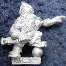 Canon nain 1996 Équipage 1 officier Citadel Warhammer machine de guerre Moteur pistolet siège