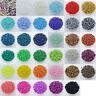 1000Pcs 2mm Czech Glass Seed Spacer beads Jewelry Making DIY Pick 35Colors