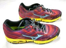 Asics Mizuno Wave Kazan Running Trail Sneakers Shoes Size 10 W red