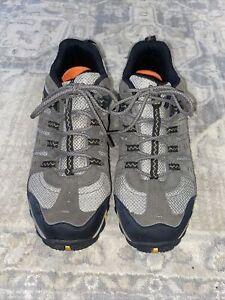 Merrell Hiking Shoes Boulder/Old Gold MENS Sz 12 M Grayish Brown