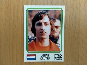 Panini World Cup Story: Johan Cruyff, Niederlande Nr. 89, WM 1974 Deutschland