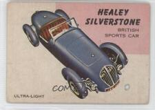 1954 Topps World on Wheels #96 Healey Silverstone Non-Sports Card 0s4