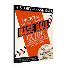 HISTORY OF THE BASEBALL - OFFICIAL NATIONAL LEAGUE BASEBALL GUIDE