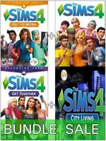 The Sims 4 + 3 DLC BUNDLE: City Living + Get to Work + Get Together (PC/Mac)