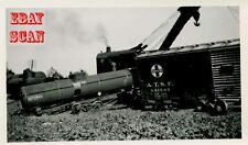 6H906 RP 1943 WRECK SOUTHERN RAILWAY TRAIN/ENGINE 4914 BROKEN DRAW BAR STACEY NC