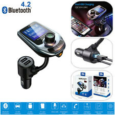 Bluetooth Car Stereo Audio Radio System Phone Wireless Handsfree FM Transmitter