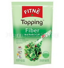 Fitne topping  fiber,slimming,weight loss,high fiber diet,fitness 10 bags.